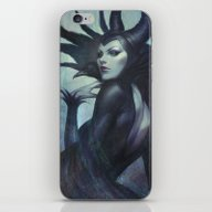 iPhone & iPod Skin featuring Wicked by Artgerm™