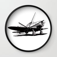 Seversky SEV-1XP Wall Clock
