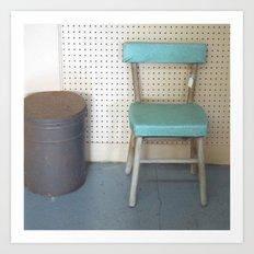 My What a Pretty Chair Art Print