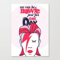 We Can Be Bowie...(Part II) Canvas Print