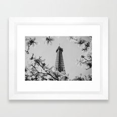 Eiffel Tower II Framed Art Print