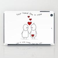 Hold My Hand  iPad Case