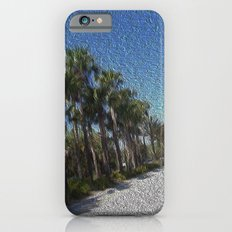 Infinite Palm Trees Slim Case iPhone 6s