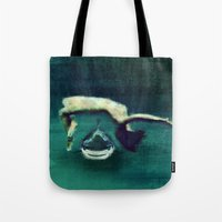 In The Depths Tote Bag