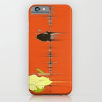 iPhone & iPod Case featuring Abstracts Tango by Corbin Henry