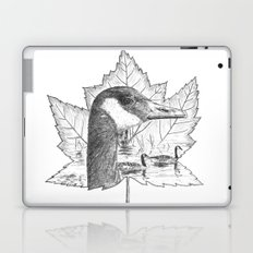 Canada Goose on Maple Leaf Laptop & iPad Skin