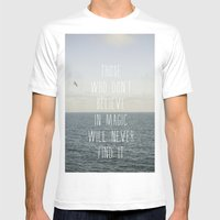 Those who don't believe... Mens Fitted Tee White SMALL