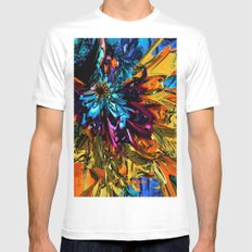 A Little Splash of Color SMALL White Mens Fitted Tee