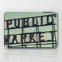 public market... iPad Case