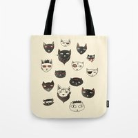 My local cattery Tote Bag