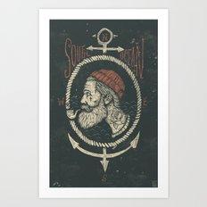 South Ocean Art Print