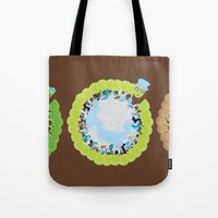 1st World: 2nd World: 3r… Tote Bag