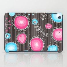 Whimsical flowers iPad Case