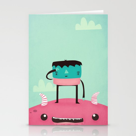 I Can See My House From Here Stationery Card