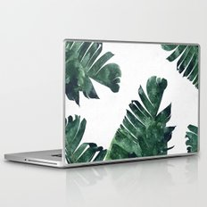 Banana Leaf Watercolor Pattern #society6 Laptop & iPad Skin