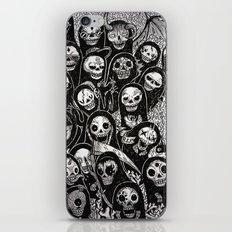Dias de los muertos iPhone & iPod Skin