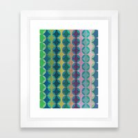 Colour Harmonies II Framed Art Print