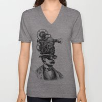 The Projectionist (colou… Unisex V-Neck