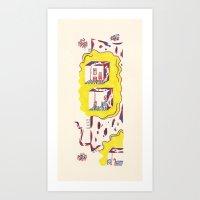 Apartment Art Print