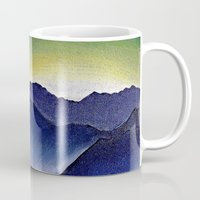 Mountain Landscape At Du… Mug