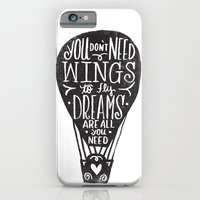 iPhone & iPod Case featuring wings & dreams by Matthew Taylor Wilson