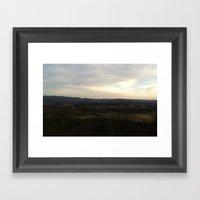 Draper's Valley Framed Art Print