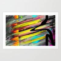 Fire Inside Art Print