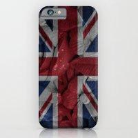 British Flowers iPhone 6 Slim Case