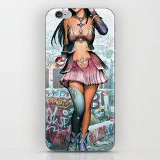Pokeball Girl iPhone & iPod Skin