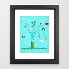 Plumbing Problems?  Framed Art Print