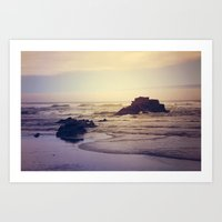 The Ocean Floor Art Print