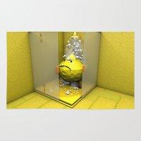 Lemon Shower Rug