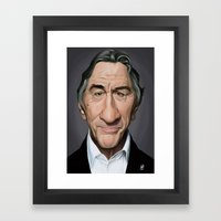 Celebrity Sunday - Rober… Framed Art Print