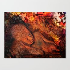 harmony in silence Canvas Print