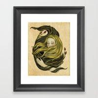 An Embrace Framed Art Print
