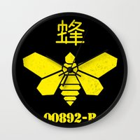 Heisenberg - Breaking Bad 892B Golden Moth Wall Clock