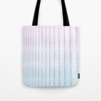 Circle Gradient Tote Bag