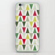 Christmas Trees, Abstrac… iPhone & iPod Skin
