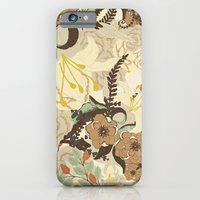 iPhone & iPod Case featuring Flowers II by Nora