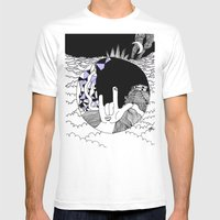 He Lookes Like You Mens Fitted Tee White SMALL