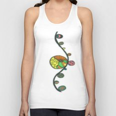 Viney Marbles Unisex Tank Top