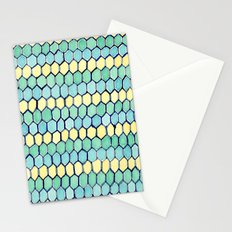 Watercolour Honeycomb Tank Top Stationery Cards