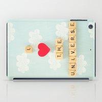 I Heart The Universe iPad Case