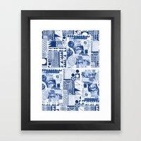 Mittela Pattern Framed Art Print