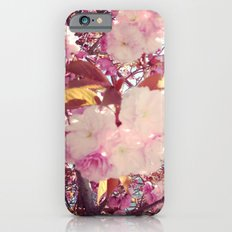 Blurry Blossoms iPhone 6 Slim Case