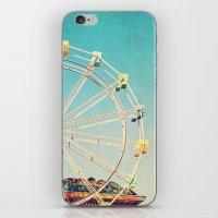 Boardwalk Ferris Wheel iPhone & iPod Skin