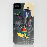 iPhone 4s & iPhone 4 Cases featuring Teen Titans by Fuacka