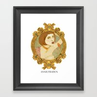 Smoked Fish (Anniestrati… Framed Art Print