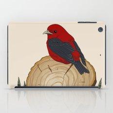 Bird on a Log iPad Case