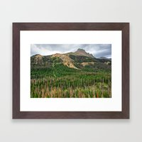 Nokhu Crags From Cameron… Framed Art Print